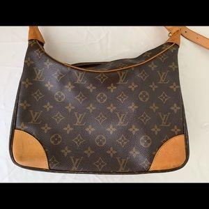 Louis Vuitton boulogne shoulder bag monogram